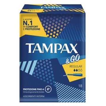 Tampax&go regular 18 pezzi