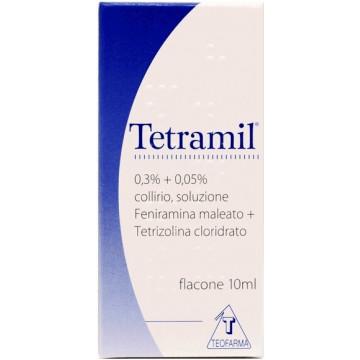 Tetramil Collirio Monodose 0,3+0,05% Feniramina Maleato 10 flaconi 10ml