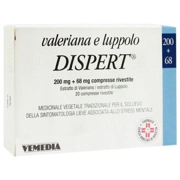 Valeriana Luppolo Dispert 20 Compresse Rivestite