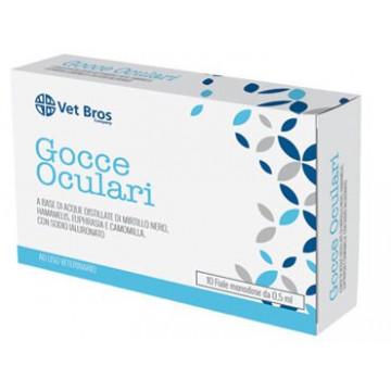 Vet bros soluzione salina sterile oftalmica ad uso veterinario 10 fiale da 5 ml