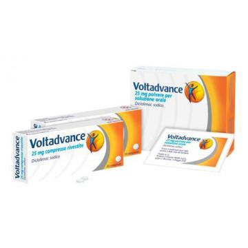 Voltadvance 25 mg Dolori Articolari 25 Compresse rivestite