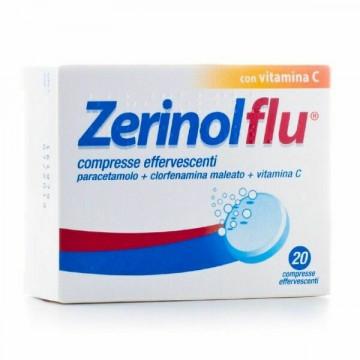 Zerinolflu Analgesico Antipiretico 20 compresse effervescenti