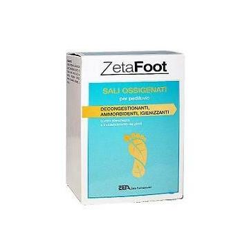 Zetafooting sali ossigenati 10 bustine 20 g