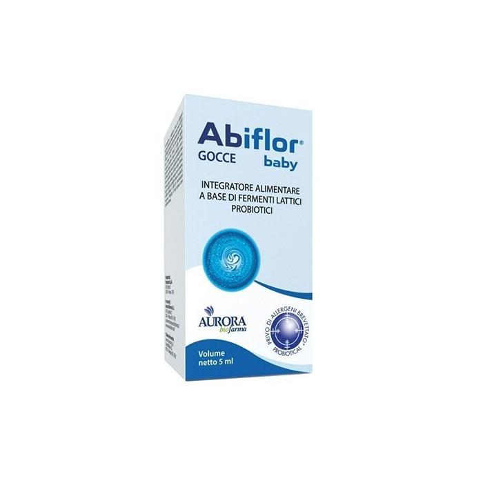 Abiflor baby gocce integratore di fermenti lattici 5 ml