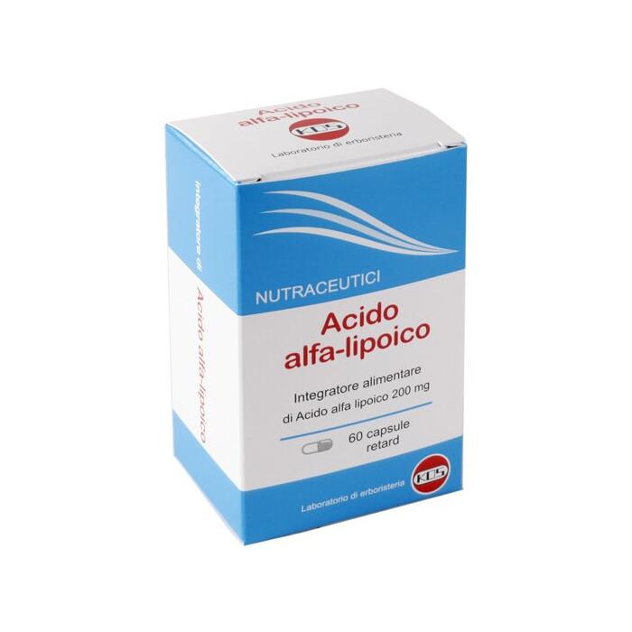Acido alfa lipoico 60 capsule