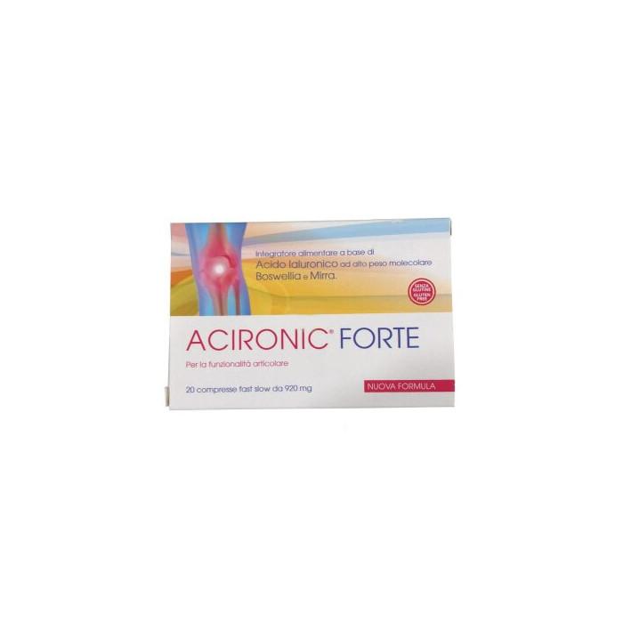Acironic forte 20 compresse fast-slow da 920 mg