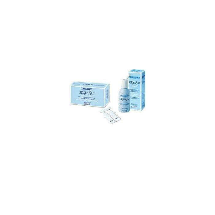Acquasal soluzione isotonica irrigazione nasale acqua termale 5 ml 20 flaconcini