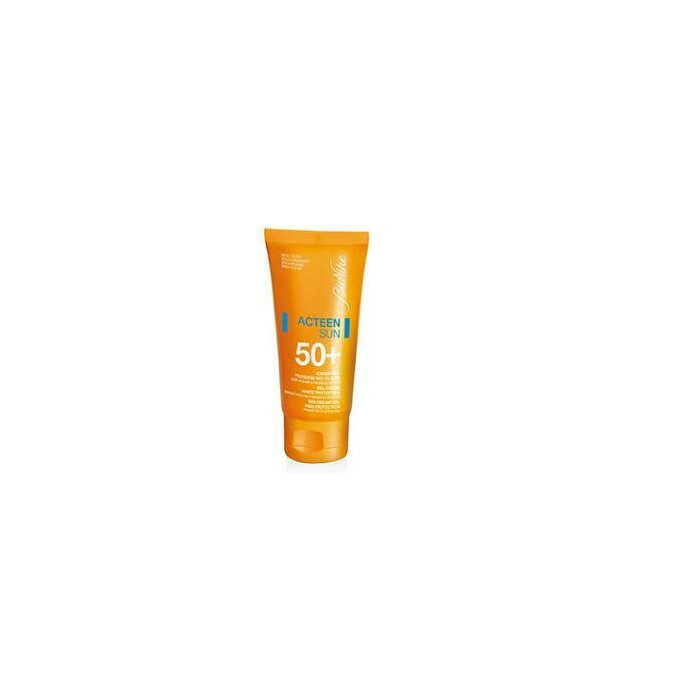 Acteen sun crema-gel 50+ per pelli a tendenza acneica tubo 50 ml