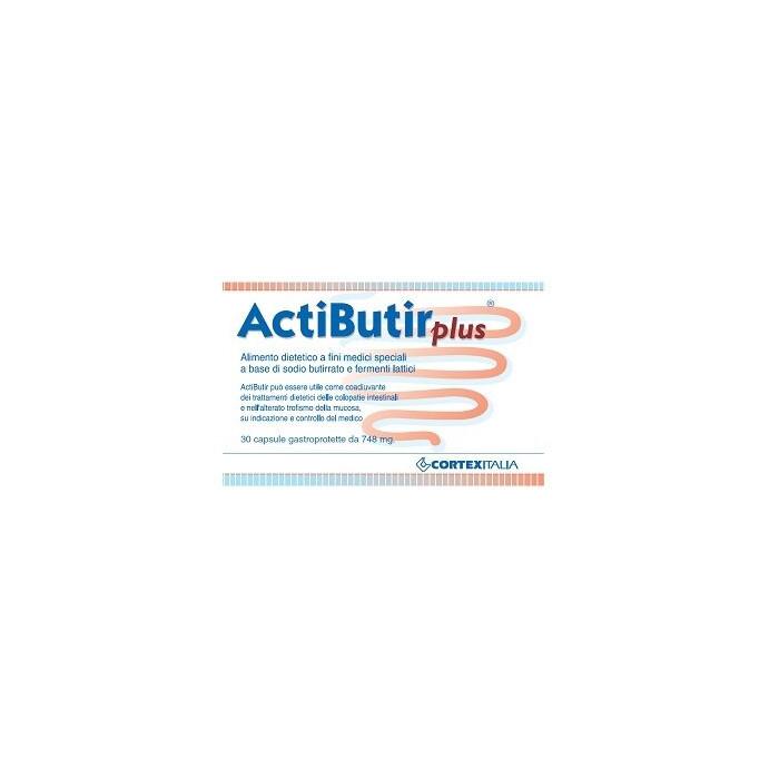 Actibutir plus 748 mg intestino 30 capsule