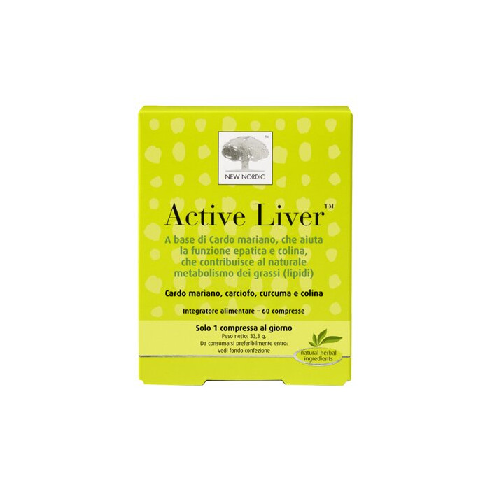 Active liver 60 compresse