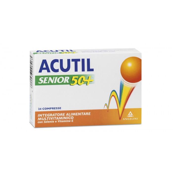 Acutil multivitaminico senior 50+ in 24 compresse