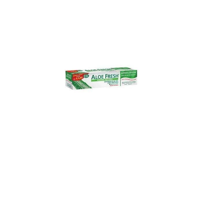 Aloe fresh menta crystal dentifricio gel con cristalli 100 ml offerta