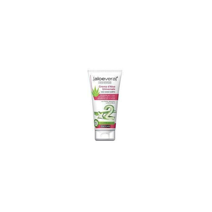 Aloevera2 crema d'aloe universale viso mani e corpo 75 ml