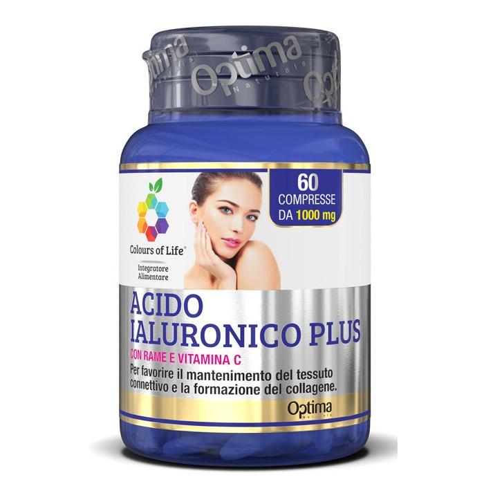 Colours of life acido ialuronico plus 60 compresse 1000 mg