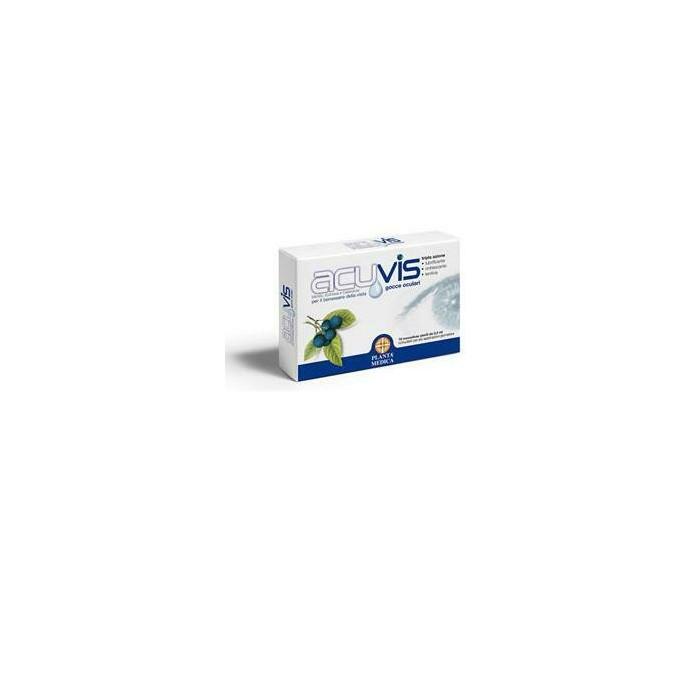 Acuvis gocce oculari 10 fiale monodose 0,5 ml