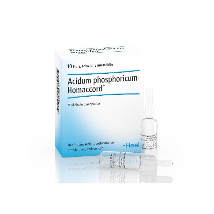 Heel phosphoricum acidum homaccord 10 fiale