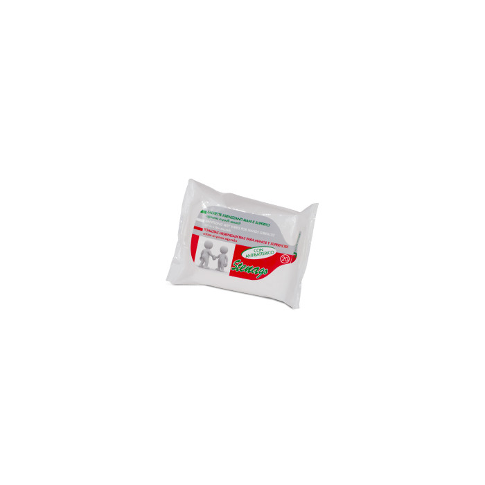 Salviettine Igienizzanti Mani E Superfici 20 Pezzi