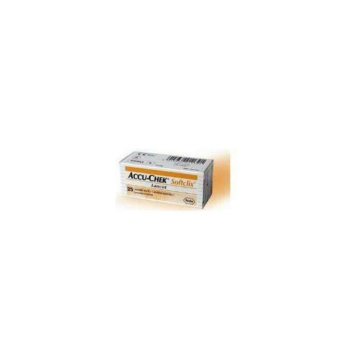 Lancette pungidito accu-chek softclix 200 pezzi