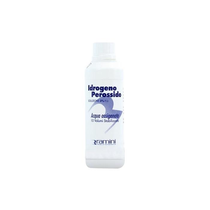 Perossido d'idrogeno fu soluzione 3% 10 volumi 200 ml
