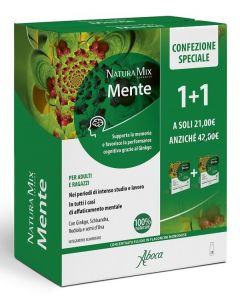 Natura Mix Advanced Mente 10 flaconcini 1+1 Promo Speciale