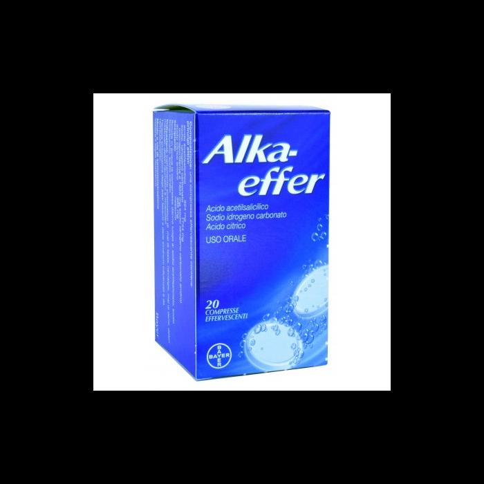 Alkaeffer Acido Acetilsalicilico 20 compresse effervescenti