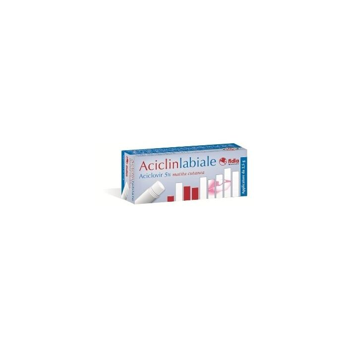 Aciclinlabiale 5% herpes matita cutanea 2,5 g