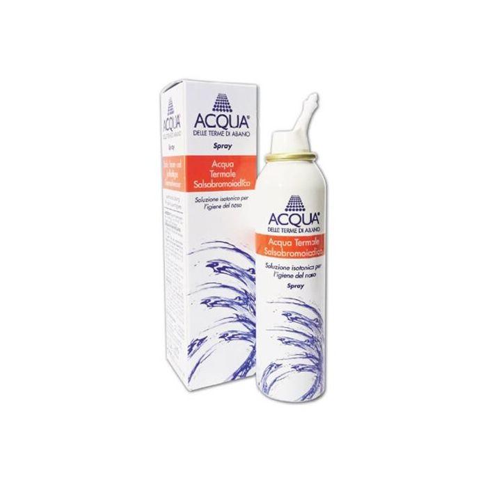 Acqua delle terme di abano isotonica spray irrigazione nasale 125 ml