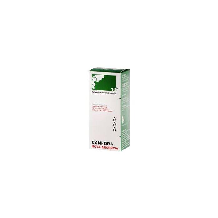 Canfora zeta 10% soluzione cutanea idroalcolica 100ml