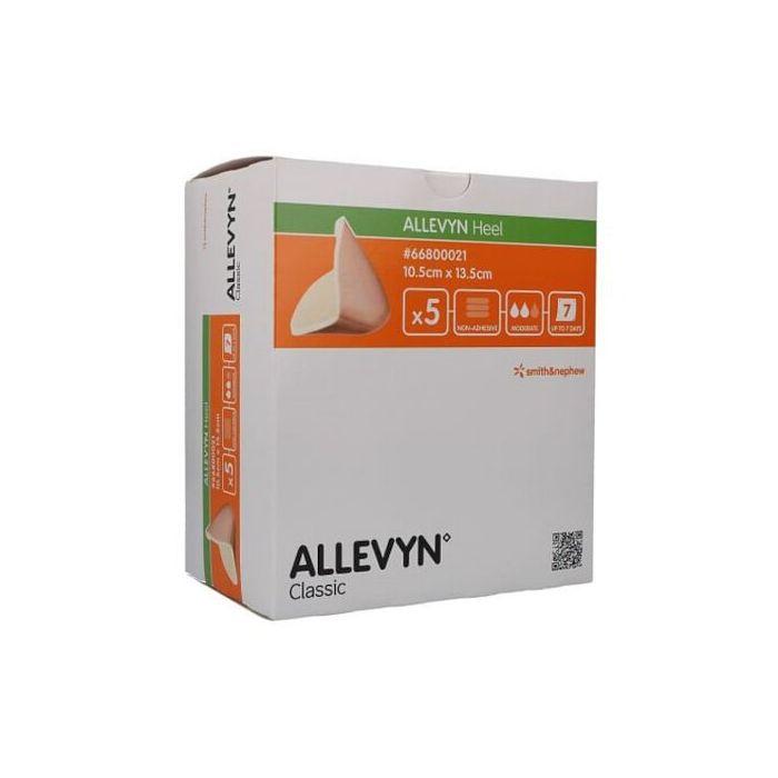 Medicazione idrocellulare sterile non adesiva conformata pertallone assorbente non aderente alla lesione in schiuma dipoliuretano 10,5x13,5cm 5medicazioni