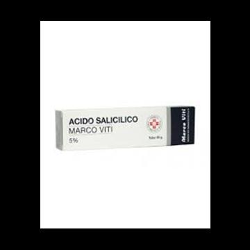 Acido salicilico 5% marco viti unguento dermatologico 30 g