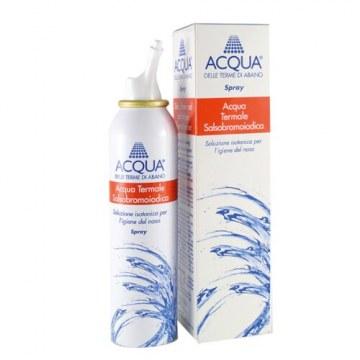 Acqua delle terme di abano ipertonica spray irrigazione nasale 125 ml