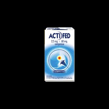 Actifed Raffreddore 12 compresse 2,5 mg + 60 mg