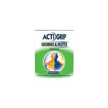 Actigrip Giorno e Notte Febbre e Raffreddore 12+4 compresse