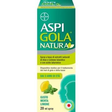 Aspi gola natura spray menta limone 20 ml