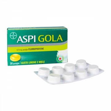 Aspi gola 8,75 mg limone miele 16 pastiglie