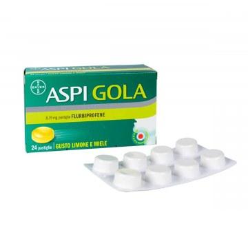 Aspi gola 8,75 mg limone miele 24 pastiglie