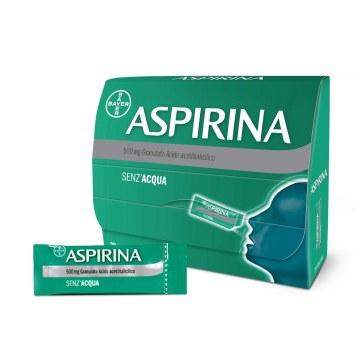 Aspirina 20 bustine granulare 500 mg