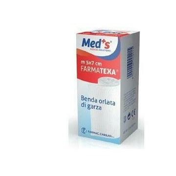 Benda meds farmatexa auricolare orlata 12/8 cm2x5m
