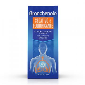 Bronchenolo sciroppo sedativo e fluidificante tosse