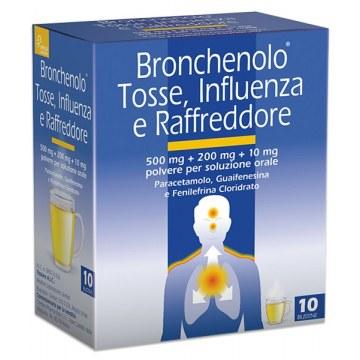 Bronchenolo tosse influenza raffreddore 10 buste