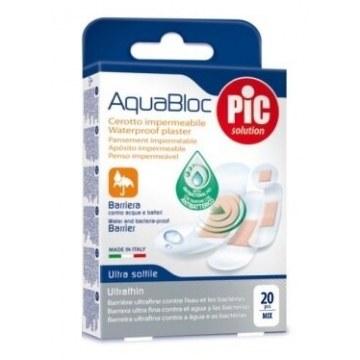 Cerotto pic aquabloc mix antibatterico 20 pezzi