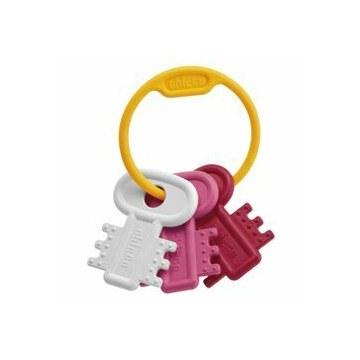 Chicco gioco chiavi color rosa