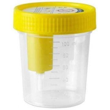 Contenitore raccolta urina linea fiale 120 ml