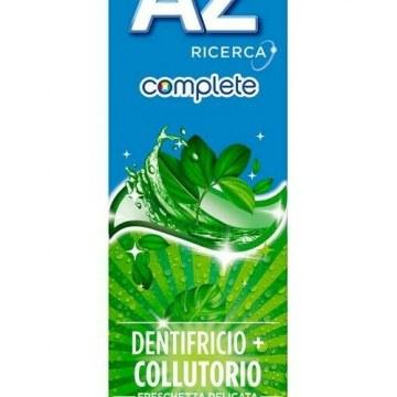 Dentifricio oral b az complete + collutorio freschezza delicata 65 + 10 ml
