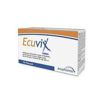 Ecuvix 10 flaconcini energizzanti 10 ml