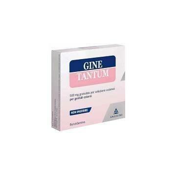 Ginetantum 500 mg granulato per soluzione cutanea vaginale 10 bustine