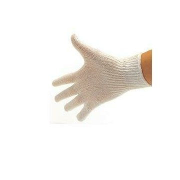 Guanto cotone bianco 8