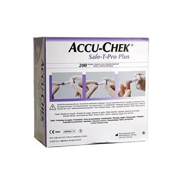 Lancette pungidito accu-chek safe t pro plus pd 200 pezzi