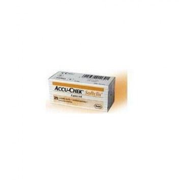 Accu-chek Softclix lancette pungidito 25 pezzi