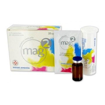 Mag 2 per Carenza di Magnesio 20 bustine
